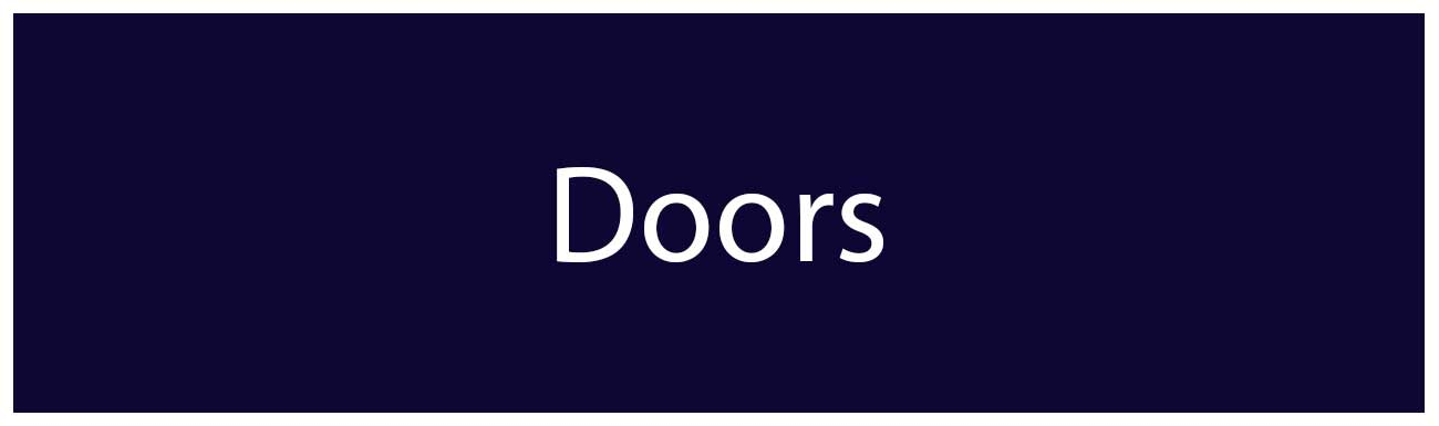 Residential Door Styles